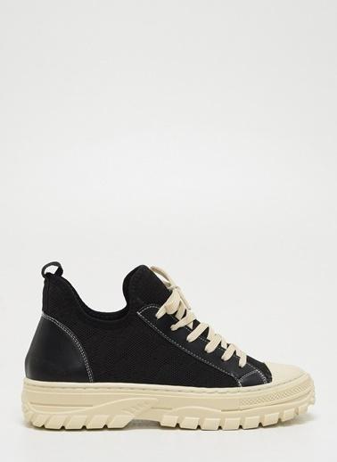 F By Fabrika Kadın Siyah Sneakers VANUATU Siyah